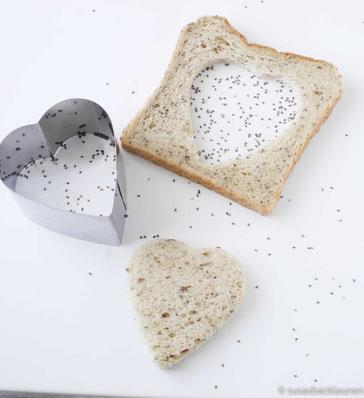 Chia-Samen-Toast