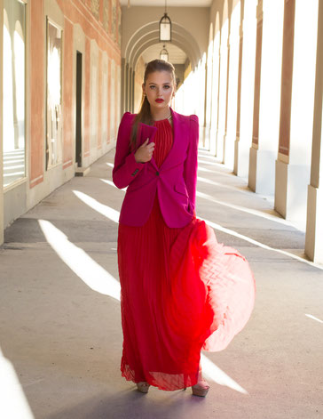 Stylistin für Modeschauen Vesna Resch, Fotograf: Severin Schweiger