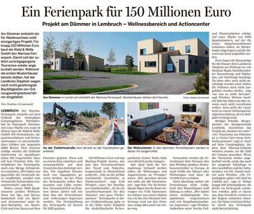 Osnabrücker Zeitung, 31. Mai 2018