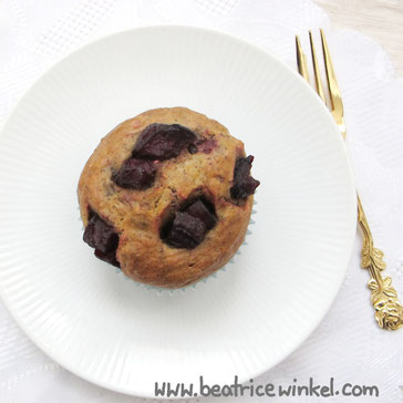 Beatrice Winkel - beetroot muffins