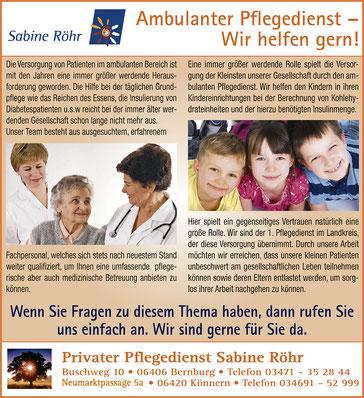 Sabine Röhr Diabesversorgung