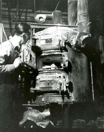 Vorröstung bei mäßiger Temperatur am NIST, 1. Mai 1947