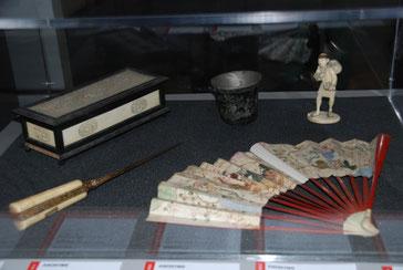 Objets évoquant le voyage en Orient / musée Boucher-de-Perthes d'Abbeville / Photo Yvan François
