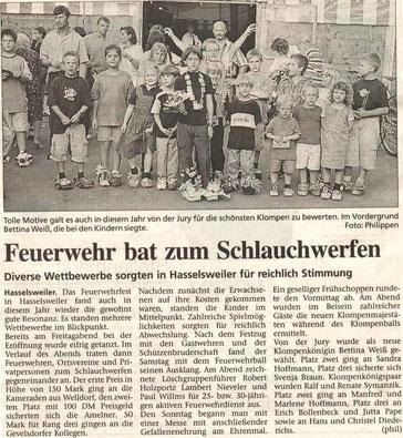 Jülicher Zeitung vom 09.09.2001
