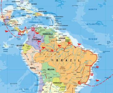 Süd- und Mittelamerika