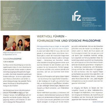 Wertvoll Führen – Führungsethik und Stoische Philosophie
