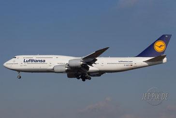 D-ABYK Lufthansa Boeing 747