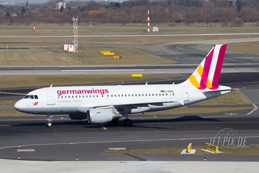 D-AKNL Germanwings A319