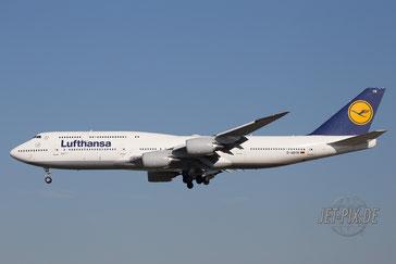 D-ABYM Lufthansa Boeing 747