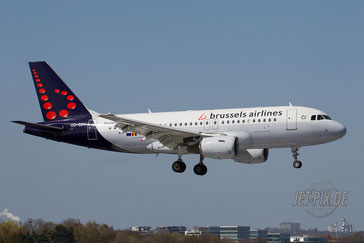 OO-SSV Brussels Airlines A319