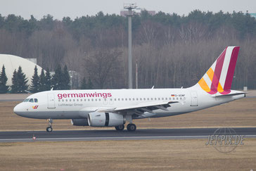 D-AGWF Germanwings A319