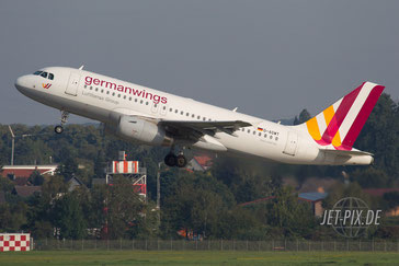 D-AGWT Germanwings A319