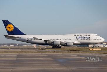 D-ABVZ Lufthansa Boeing 747