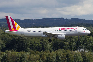 D-AIQB Germanwings A320