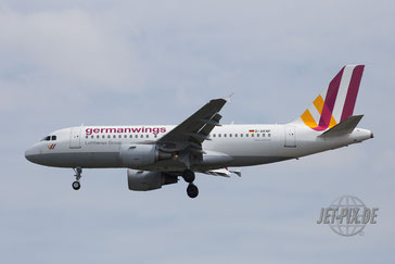 D-AKNF Germanwings A319