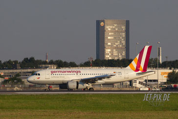D-AGWX Germanwings A319