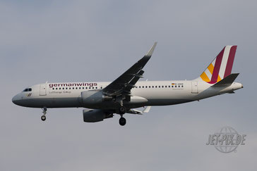 D-AIUO Germanwings A320