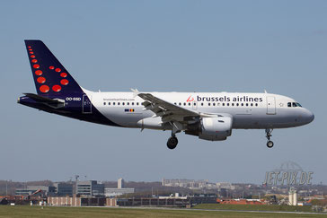 OO-SSD Brussels Airlines A319