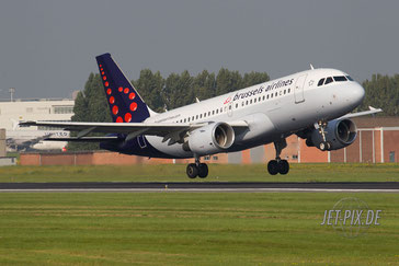 OO-SSF Brussels Airlines A319