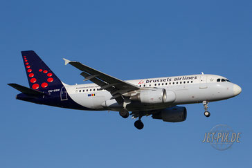 OO-SSW Brussels Airlines A319