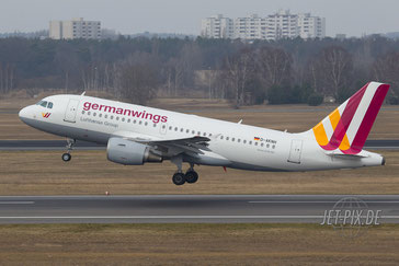 D-AKNH Germanwings A319