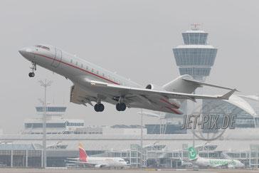 9H-VTC VistaJet Bombardier Global 5000 Flughafen München Sicherheitskonferenz 2017