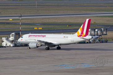 D-AKNI Germanwings A319