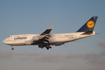 D-ABVD Lufthansa Boeing 747