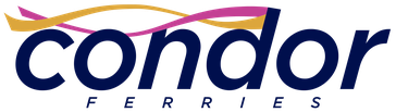 Condor Ferries' logo, upddated in 2015.