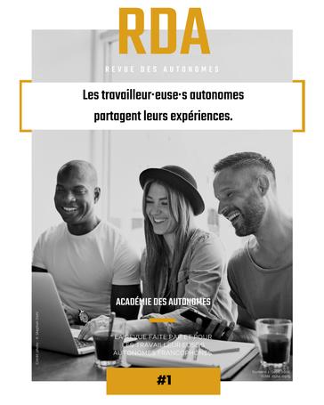Couverture de RDA - Revue des Autonomes numéro 1 par l'Académie des Autonomes soutien aux travailleurs autonomes