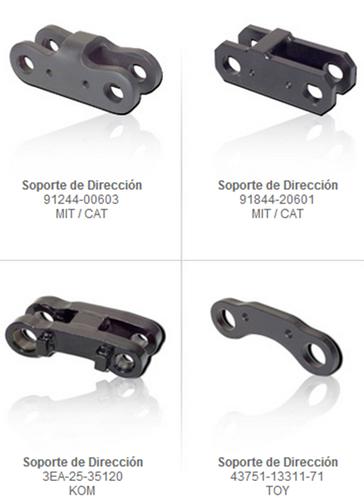 soportes direccion traccion refacciones partes montacargas mexico