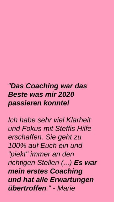 Business Coaching für Frauen, Soul Rebel Coaching, nebenberuflich gründen
