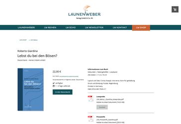 launenweber.de (Konzept: viceversa-gestaltung.de)