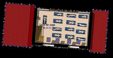 Plan R+1 Salle de yoga