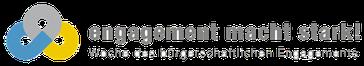 Freiwilligen-Zentrum Augsburg - Logo Woche des bürgerschaftlichen Engagements