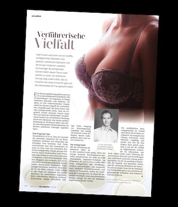 Brust-OP, Brustvergrößerung und Brustverkeinerung