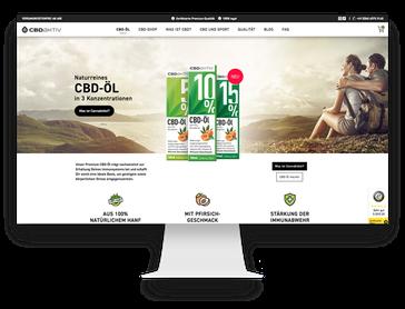 Online-Shop Showcase Jimdo