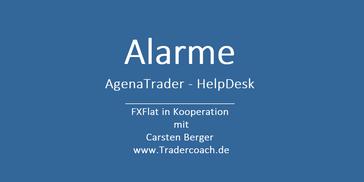 AgenaTrader Alarme setzen - so gehts Tutorial Video