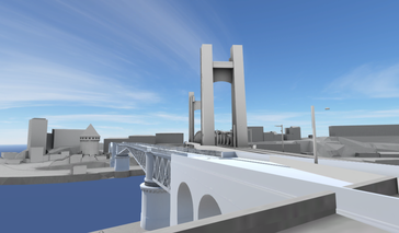 Capture d'écran de l'animation réalisée par le Centre européen de réalité virtuelle.
