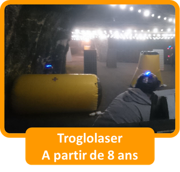 Saumur Forest Aventures Troglolaser