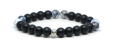 bracelet how lite et tête e bouddha