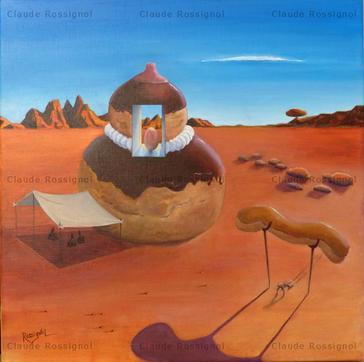 La Chef Pâtissière - Claude Rossignol