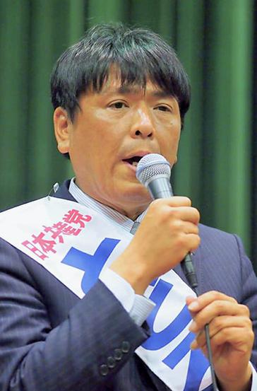 日本共産党演説会で訴え(11/4、イコス上尾ホール)