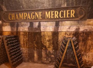 Champagnestreek bezoeken Epernay huis Mercier