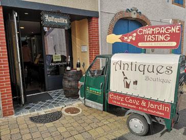 Champagnestreek Champgehuis Tribaut in Hautvillers