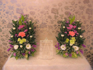 ご自宅用生花祭壇