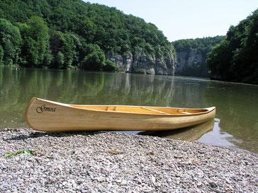 Mit dem Leistencanadier durch den Donaudurchbruch bei Kelheim