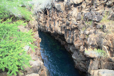 les eaux limpides de Las Grietas