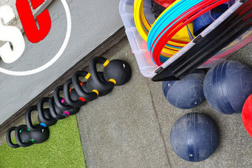SC Int'l - Street Combatives - Cross-Combat-Training - Minibands - Powerbands - Slamballs- Kettlebells