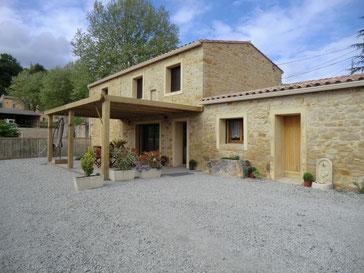 gite dans l'Aude pays cathare gites de france à Véraza avec piscine